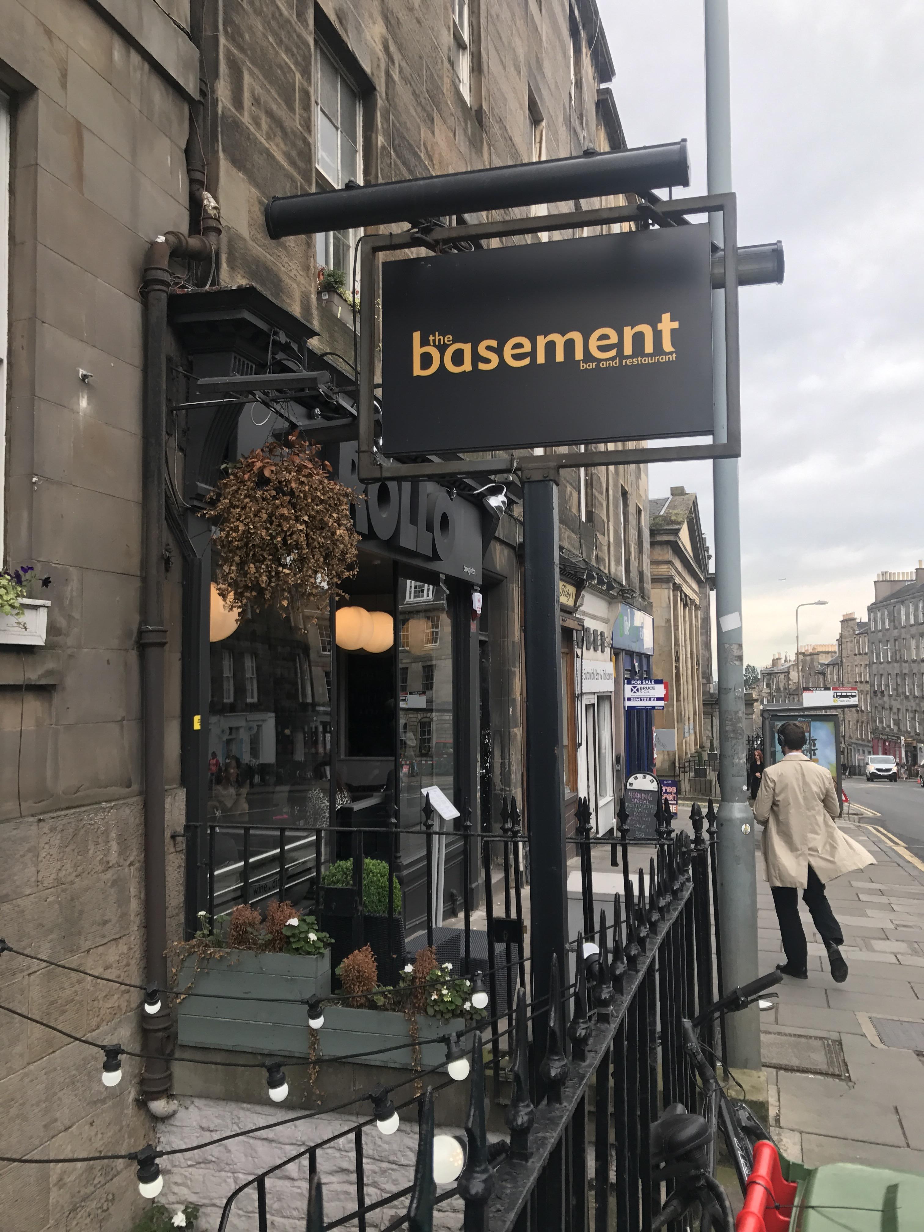 The Basement-Fun Mexican Bar And Restaurant In Edinburgh
